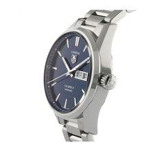 Mens Watches - TAG Heuer Carrera Calibre 5 Mens Watch - WAR201E.BA0723
