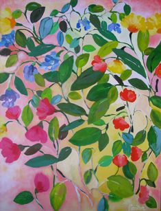 Kim Parker, 36 x 48, Love, pretty colors. No wonder The Rug Company had her design a rug!