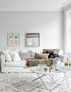 Comfy Couch Light Home In Beige Tints Via Coco Lapine Design Decor