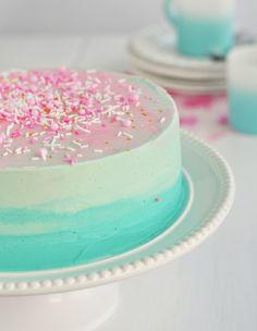 Turqoise cake