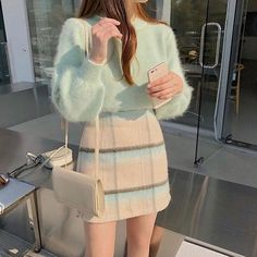 Stylish ideas on korean fashion outfits can find Korean fashion and more on our website.Stylish ideas on korean fashion outfits 803 Korean Outfits, Mode Outfits, Girly Outfits, Cute Casual Outfits, Pretty Outfits, Vintage Outfits, Korean Clothes, Korean Dress, Dress Outfits