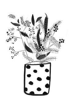 spotty vase by Erin McIntyre