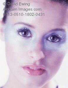 futuristic makeup mask - my choice of mask