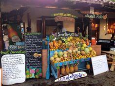 Smoothie bar Masaya, Nicaragua
