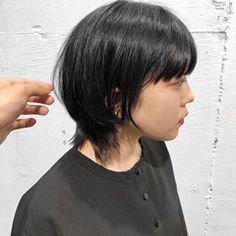 Medium Hair Cuts, Short Hair Cuts, Short Hair Styles, Shory Hair, Asian Hair, Cut And Color, Bob Hairstyles, Hair Goals, Hair Inspiration