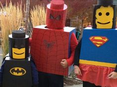 DIY Lego Costumes - #Halloween #Costumes