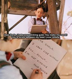 Everyone's favorite part of Little Rascals