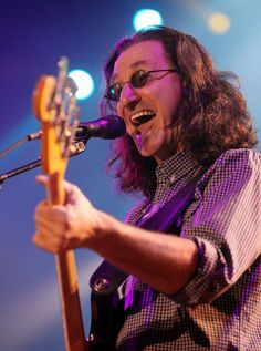 Geddy Lee -Rush
