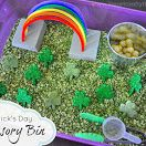 St. Patrick's Day Sensory Bin- pinned by @PediaStaff – Please Visit  ht.ly/63sNt for all our pediatric therapy pins