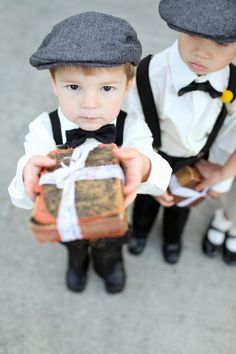 ring bearers | Let us help you plan all the details for your wedding! www.PerfectDayWeddingPlanners.com