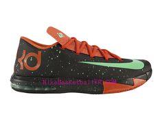 cheap for discount 41852 62647 Nike KD 6 Texas Pas Cher Noir Vert 599424-002 - NikeBasketballFr.com