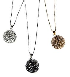 These are cute. I love the black and silver one. Bling bling jewellery, real 925 silver. 49,95 e, Bijou Brigitte, Kamppi.