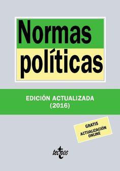 Normas políticas.    17ª ed.    Tecnos, 2016