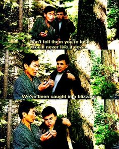 Sulu and Chekov, I had a hard time watching this movie, but this part made up for it the rest of the way.