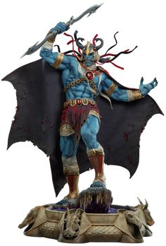 Thundercats Mumm-Ra Statue by sideshow collectibles a totally amazing stunning piece, for more information on this cool 80's iconic piece or to purchase it just click image for sideshow sales page