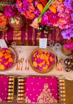 Gorgeousness by WedLuxe: Morocco-inspired reception decor