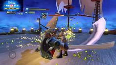 Disney Infinity 3.0 Groot vs Davy Jones Boss Fight Extreme Level