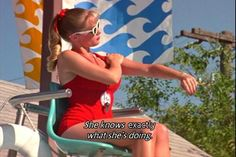 Wendy Peffercorn from The Sandlot. I can't believe she was played by Marley Shelton.