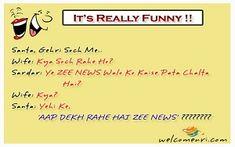 Welcomenri - India's leading portal for Non Resident of India Santa Banta Jokes, Latest Jokes, Jokes In Hindi, Really Funny, Read More, So Funny, Funny Jokes In Hindi