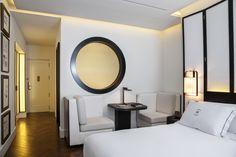 Gran Hotel Montesol Ibiza, Curio Collection by Hilton Ibiza, Oversized Mirror, Rooms, Furniture, Design, Home Decor, Bedhead, Spaces, Trendy Tree