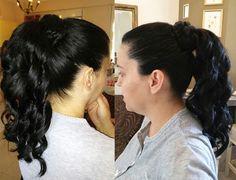 Super girly ponytail!!