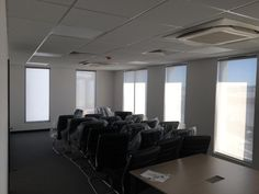 Commercial Blinds, Fitted Blinds, Conference Room, Restaurant, Table, Furniture, Home Decor, Decoration Home, Room Decor