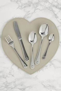 Or stick to the norm of silver cutlery and photograph your table in the perfect layout.