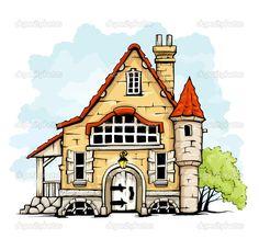 дом в векторе - Поиск в Google