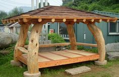 Cool 32 Superb Diy Outdoor Furniture Design Ideas To Try Right Now Rustic Outdoor Furniture, Log Furniture, Modern Furniture, Antique Furniture, Furniture Ideas, Furniture Layout, Western Furniture, Furniture Storage, Wooden House Design