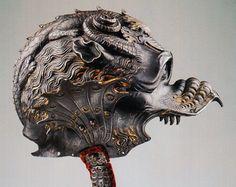 Korok csodái: Grotesque helmet and other parade helmet / Groteszk és egyéb dísz (felvonulási) sisakok
