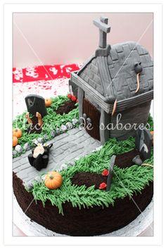 Tarta Halloween. Cake.