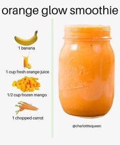 Fruit Smoothie Recipes, Easy Smoothies, Smoothie Drinks, Smoothie Diet, Smoothie Ingredients, Vegan Smoothies, Breakfast Smoothies, Diet Breakfast, Healthy Juices