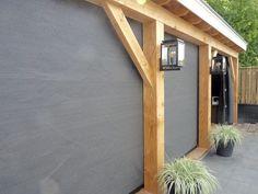 verandazeilen.nu – verandazeilen van HDPE Backyard Pavilion, Pergola Patio, Backyard Landscaping, Gate Designs Modern, Gazebo Decorations, Patio Enclosures, Outdoor Cover, Garden Buildings, Patio Design
