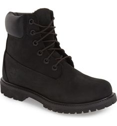 Shop Women's Timberland Black size 6 Winter & Rain Boots at a discounted price at Poshmark. Description: Timberland black boots waterproof new with box size 6 color black. Timberland 6 Inch, Timberland Waterproof Boots, Timberland Premium, Timberland Boots Outfit, Black Timberlands, Yellow Boots, Black Boots, Shoe Company, Leather Boots