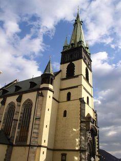 The church of the Assumption of Holy Virgin Mary in Ústí nad Labem, Czechia #church #city #czechia