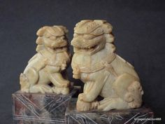 Antique Vintage Chinese soapstone very by Vintagecollection888