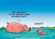 Uli Stein Postkarte / Wurscht Der Uli Stein Online Shop