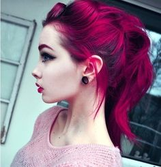 Colored hair on Pinterest | Colorful Hair, Colored Hair and Purple ...