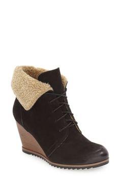 205cf3ac47c Caslon® Gaby Faux Shearling Lace Up Bootie (Women)