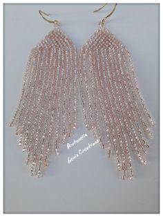 Orecchini con perline... Beaded earrings !