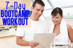 7-Day Bootcamp Workout Plan | SparkPeople