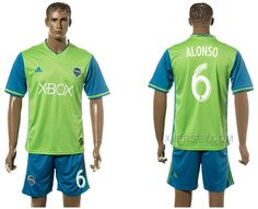http://www.xjersey.com/201617-seattle-sounders-6-alonso-home-jersey.html 2016-17 SEATTLE SOUNDERS 6 ALONSO HOME JERSEY Only 33.11€ , Free Shipping!
