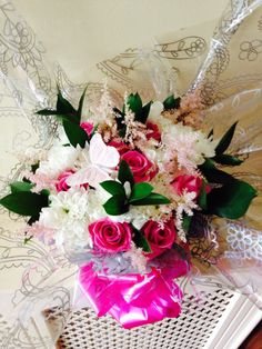 Gift bouquet from Cottons and Blossoms -  cottonsandblossoms.weebly.com