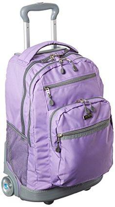 a5fced4353 J World New York Sundance II Rolling Backpack