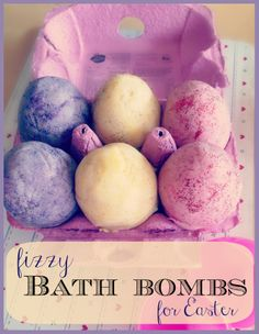 This is a brilliant alternative to chocolate. Fun bath bombs shaped like eggs.