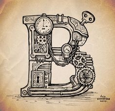 steampunk typefaces - Google Search