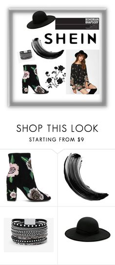"""""""Untitled #67"""" by lejlasehic ❤ liked on Polyvore featuring Rebecca Minkoff, Maybelline, White House Black Market and Betmar"""