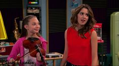 "Maddie Ziegler on Austin and Ally episode ""homework and hidden talents"""
