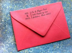 For The Thank You Notes Custom Return Address Stamp Great Housewarming By