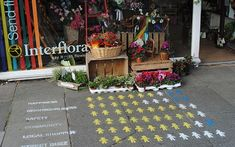 Now that's clever! Ideas for #Infographics: On the Sidewalk in Front of Your Store?